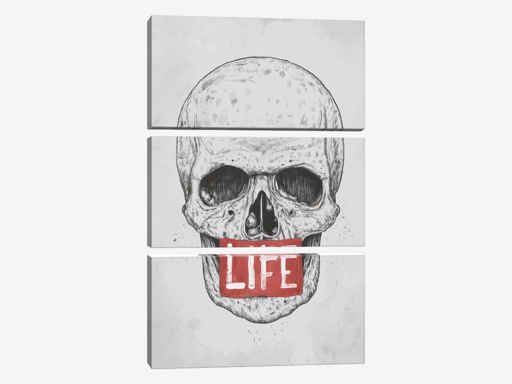 Life by Balazs Solti 3-piece Canvas Print