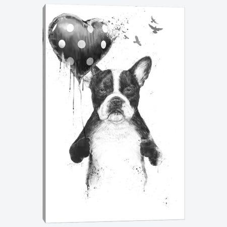 My Heart Goes Boom Canvas Print #BSI78} by Balazs Solti Canvas Artwork