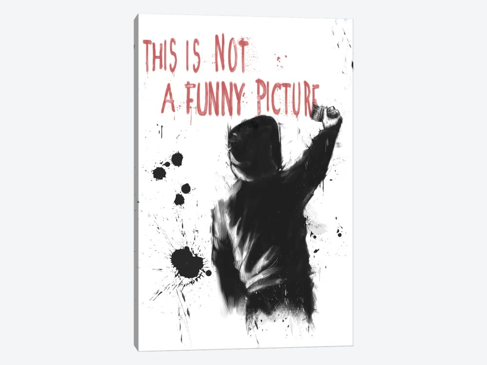 Not Funny by Balazs Solti 1-piece Art Print