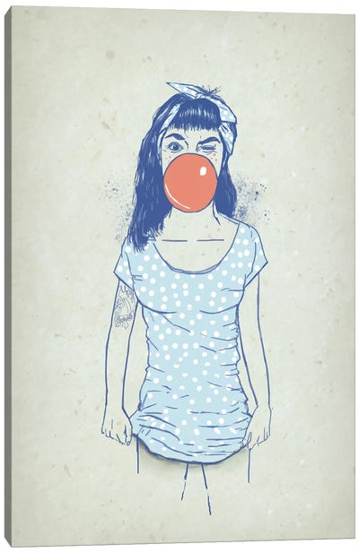 Pin Up Canvas Art Print
