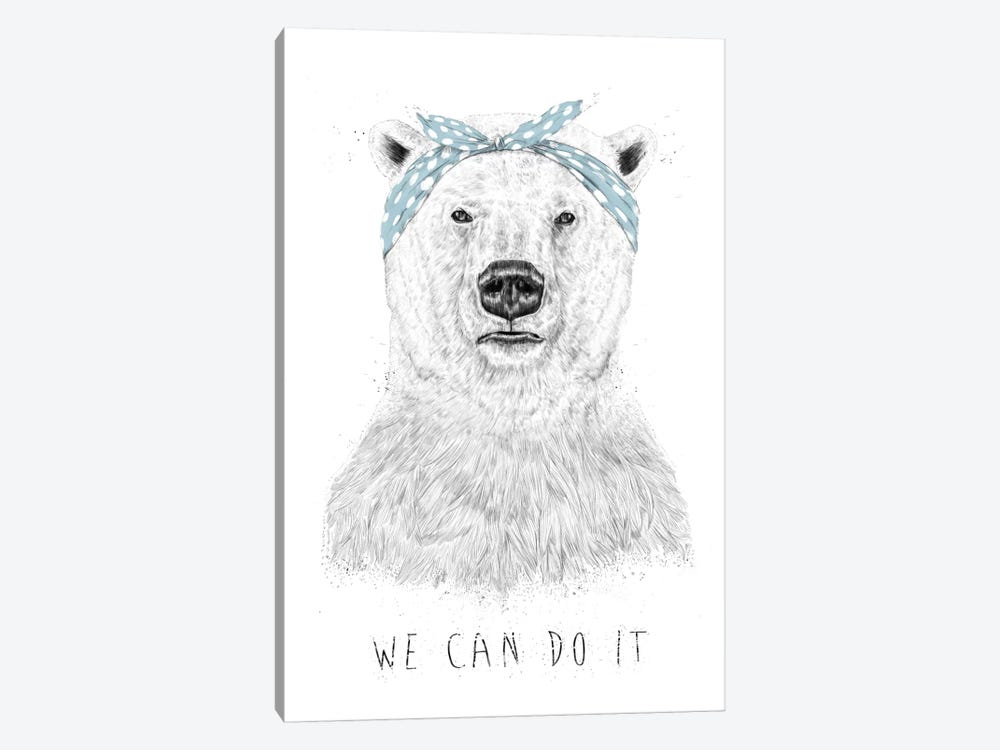 We Can Do It by Balazs Solti 1-piece Art Print