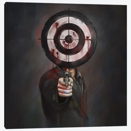 Revenge Canvas Print #BSI90} by Balazs Solti Canvas Wall Art