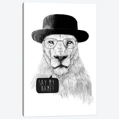 Say My Name Canvas Print #BSI93} by Balazs Solti Canvas Artwork