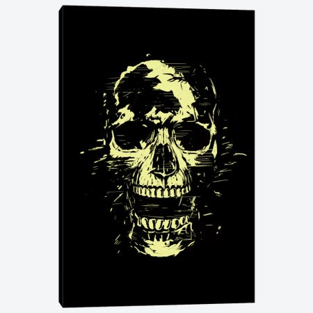 Scream (Gold) Canvas Print #BSI96} by Balazs Solti Art Print