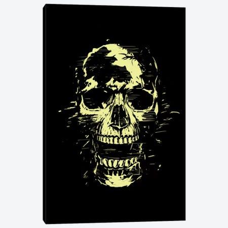 Scream (Gold) Canvas Print #BSI96} by Balazs Solti Art Print