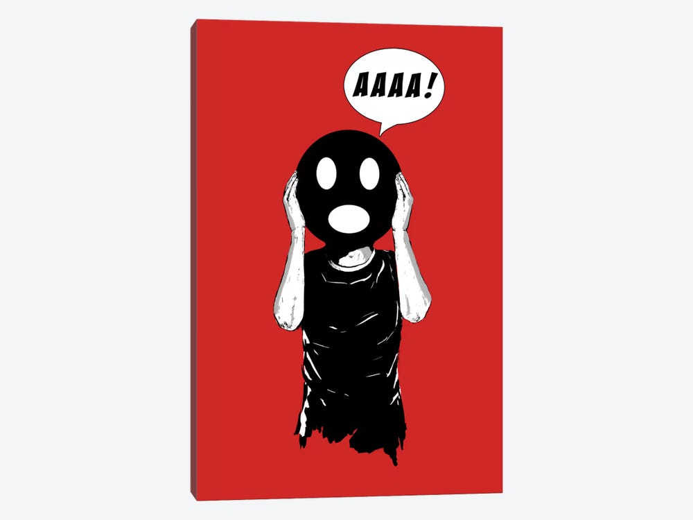 Scream III by Balazs Solti 1-piece Canvas Wall Art