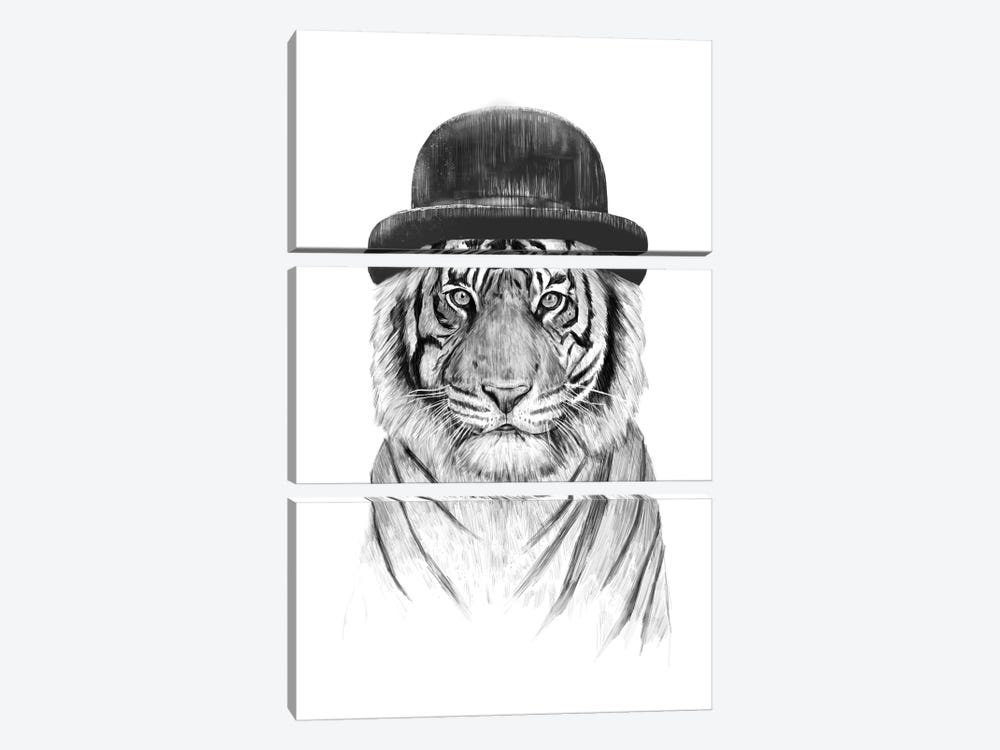 Welcome To The Jungle by Balazs Solti 3-piece Canvas Artwork