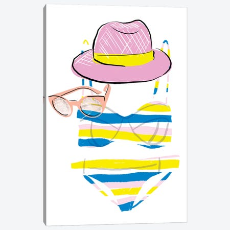 Soak up the Sun IV Canvas Print #BSL12} by Blanckslate Art Print