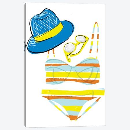 Soak up the Sun VI Canvas Print #BSL14} by Blanckslate Canvas Artwork