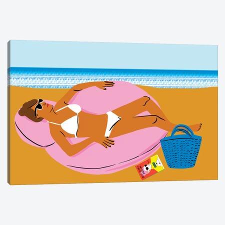 Beachy Keen I Canvas Print #BSL15} by Blanckslate Canvas Wall Art