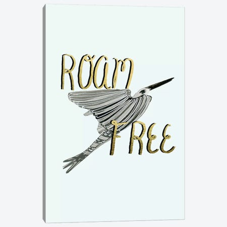 Roam Free IV Canvas Print #BSL17} by Blanckslate Canvas Art