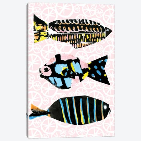 Capri II Canvas Print #BSL21} by Blanckslate Canvas Artwork