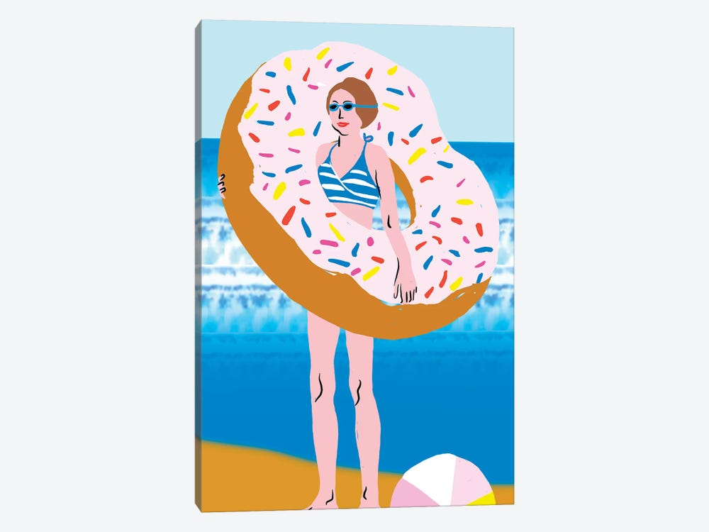 Beachy Keen Collection by Blanckslate 1-piece Canvas Art Print