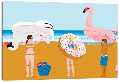 Beachy Keen Collection Canvas Art Print
