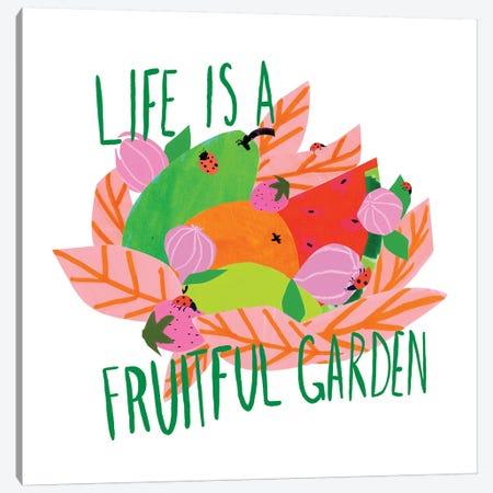 Fruitful Garden I Canvas Print #BSL27} by Blanckslate Canvas Print