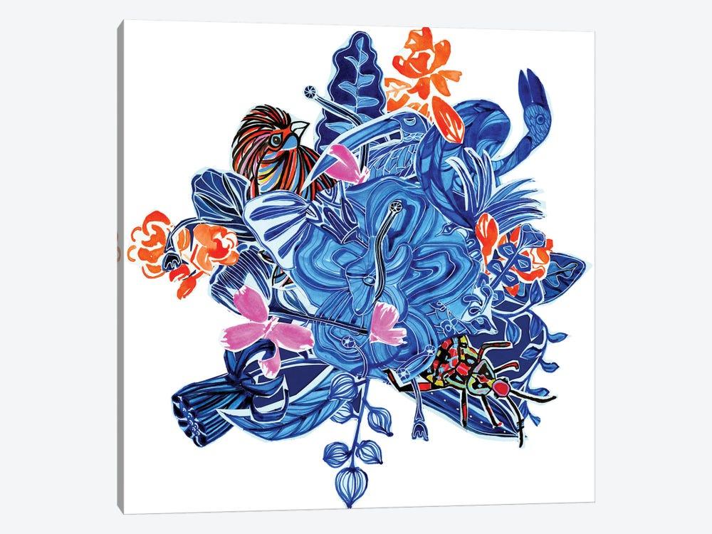 Menagerie II by Blanckslate 1-piece Canvas Artwork