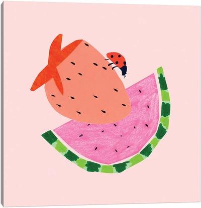 Strawberry Fields I Canvas Art Print