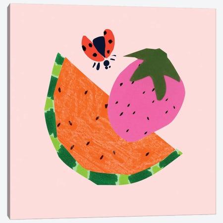 Strawberry Fields II Canvas Print #BSL31} by Blanckslate Canvas Print