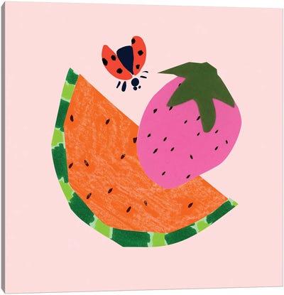 Strawberry Fields II Canvas Art Print