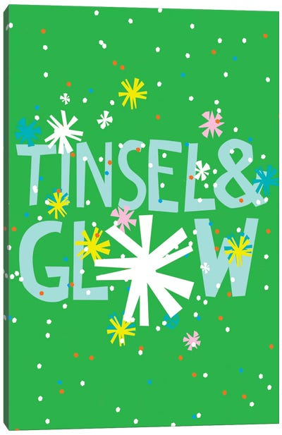 Merry & Bright I Canvas Art Print