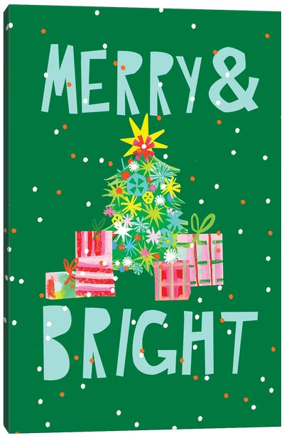 Merry & Bright VI Canvas Art Print