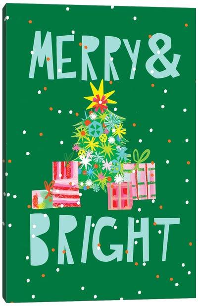 Merry & Bright VI Canvas Art Print