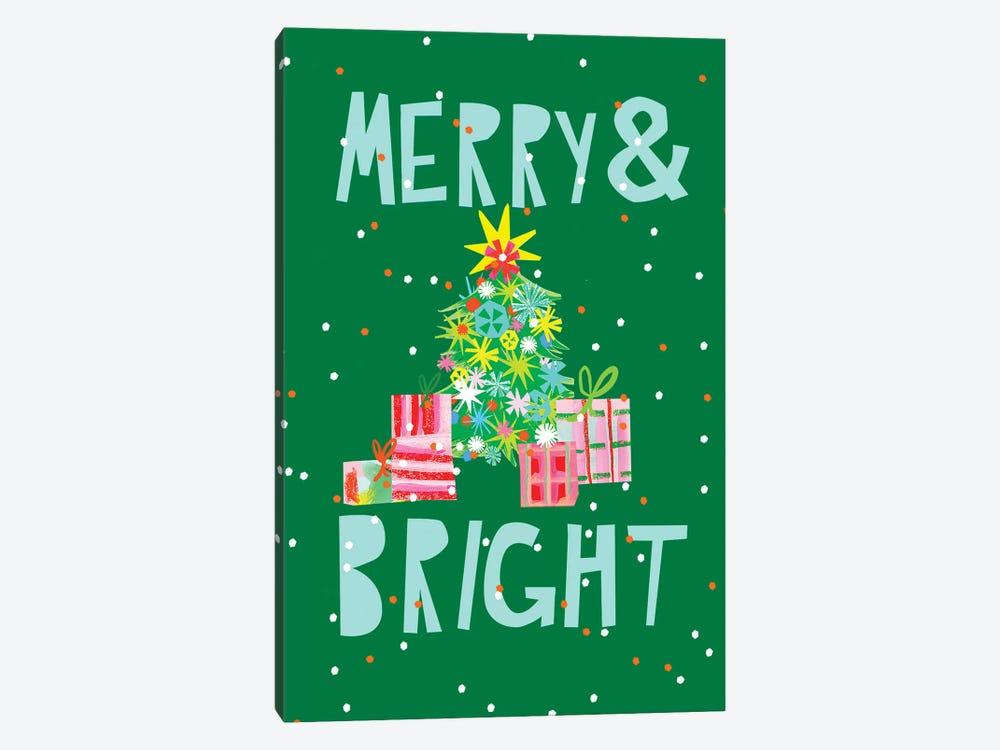 Merry & Bright VI by Blanckslate 1-piece Canvas Art