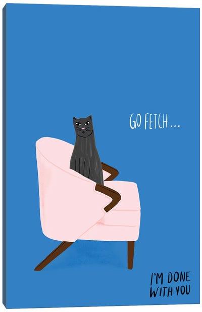 Mod Cats II Canvas Art Print