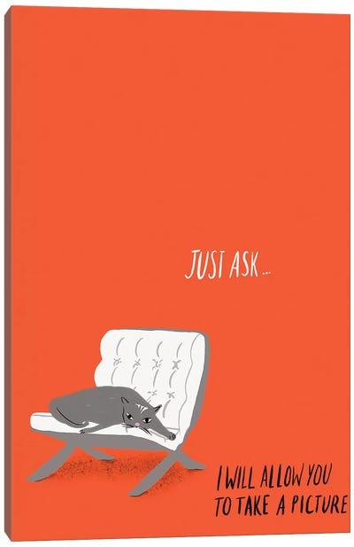 Mod Cats IV Canvas Art Print