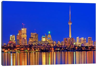 Downtown Skyline, Toronto, Ontario, Canada Canvas Art Print
