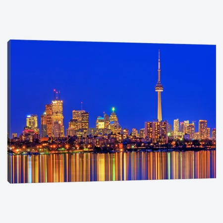 Downtown Skyline, Toronto, Ontario, Canada Canvas Print #BSM1} by Brad Smith Canvas Art
