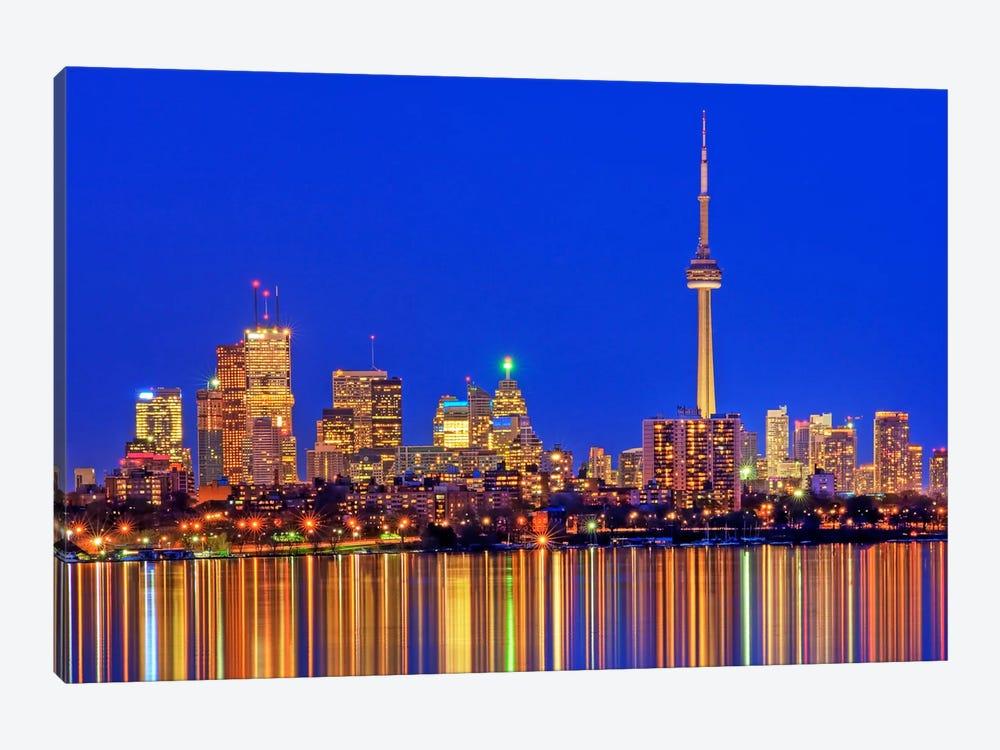 Downtown Skyline, Toronto, Ontario, Canada by Brad Smith 1-piece Canvas Art