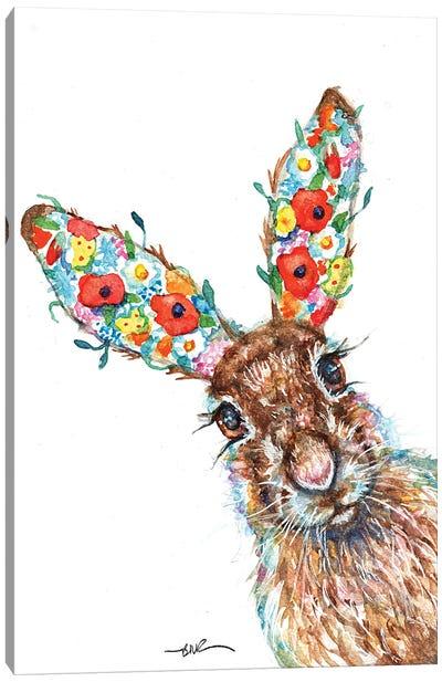 Herbaceous Hare Canvas Art Print