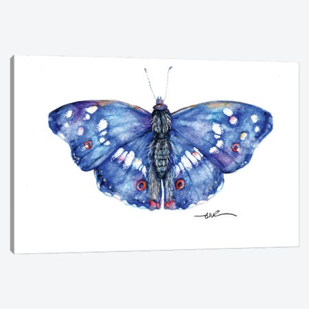 Purple Emperor Canvas Print #BSR104} by BebesArts Canvas Art