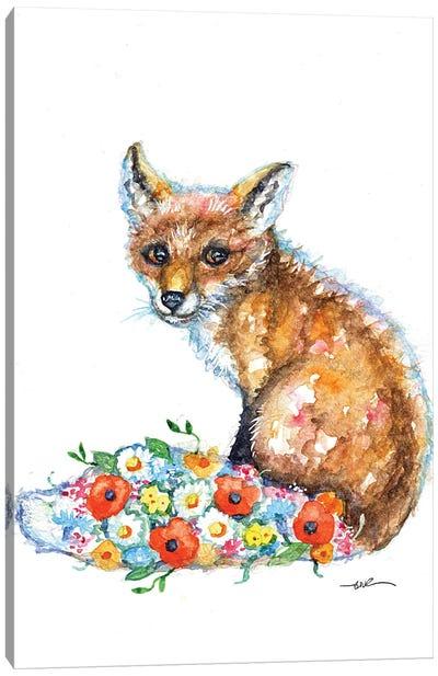 The Fox's Tail Canvas Art Print