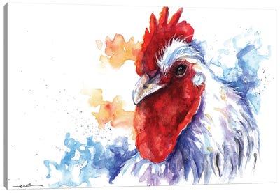 Cock-A-Doodle-Doo Canvas Art Print