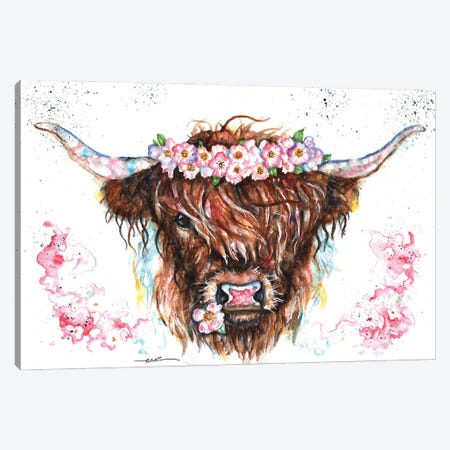 Eglantine Canvas Print #BSR21} by BebesArts Canvas Wall Art