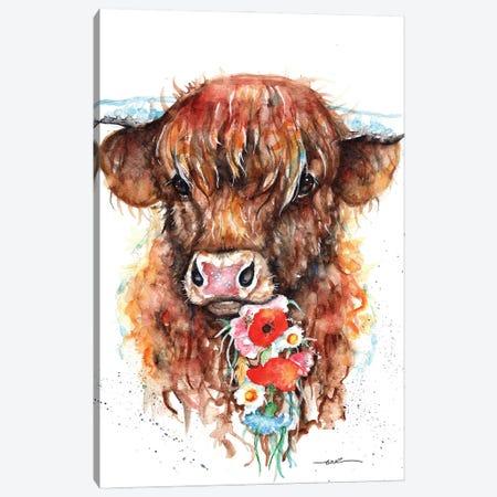 Flora Canvas Print #BSR23} by BebesArts Canvas Art
