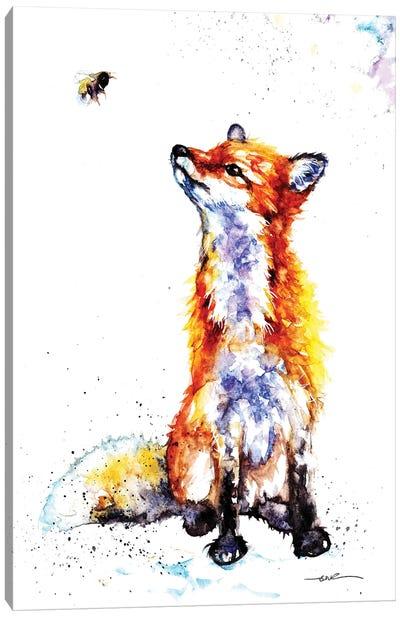 Hello Bee... Canvas Art Print