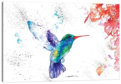 Hummingbird And Blossom I Canvas Art Print