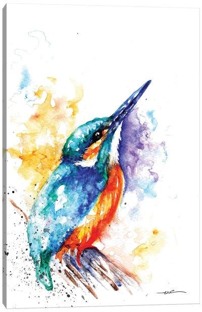 Kingfisher I Canvas Art Print