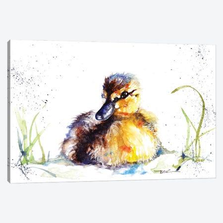 Little Duckling Canvas Print #BSR46} by BebesArts Canvas Art Print