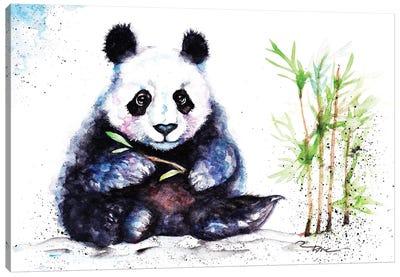 Little Panda Canvas Art Print