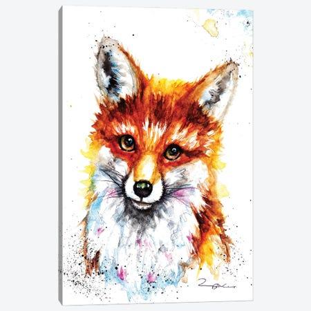 Little Vixan Canvas Print #BSR48} by BebesArts Canvas Wall Art