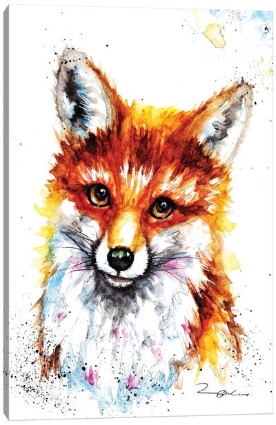 Little Vixan Canvas Art Print