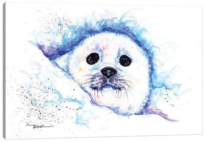 Pup Canvas Art Print