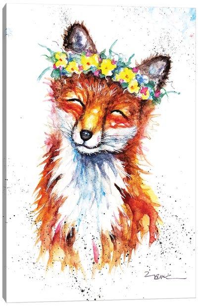 Spring Fox Canvas Art Print
