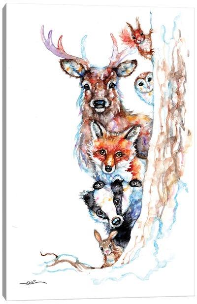 Countryside Crew Canvas Art Print