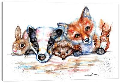 Countryside Friends Canvas Art Print
