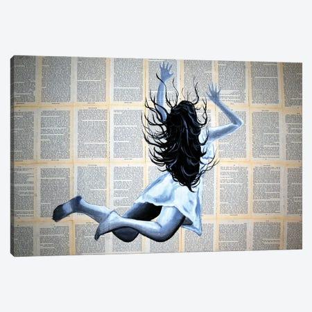 The Speed Reader Canvas Print #BST107} by Brandon Scott Canvas Art